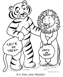halloween coloring pages costumes 013