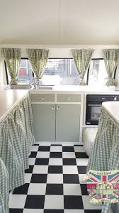 Camper Interior Decorating Ideas by Vintage Caravan Bespoke Built Soft Catering Interior