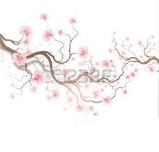 cherry blossom japanese vector icon set nature japanese