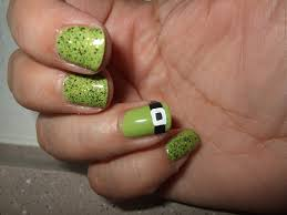 lucky beauty st patrick u0027s day nail art tutorial