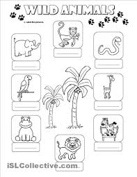 worksheet for kindergarten of animals match the parents