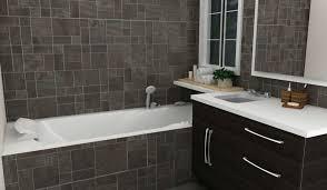 bathroom 2017 polished brown ceramic flooring cottage small