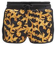 designer weste cayler sons trousers shorts black gold cayler