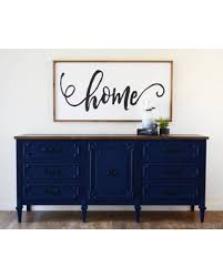 Navy Blue Table L Amazing Deal On Sold Navy Blue Media Console 6 Ft Dresser