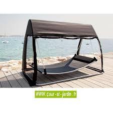 tonnelle de jardin avec moustiquaire hamac tropique 2 places