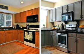 painted black kitchen cabinets before and after paint kitchen cabinets black before after white painting full size