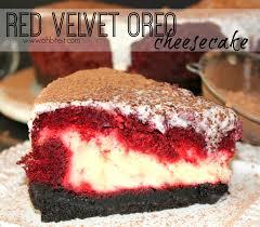 red velvet oreo cheesecake oh bite it