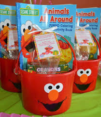 elmo party favors cakes treat bags