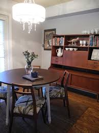 Reupholstering A Dining Room Chair Librarian Tells All I Live Here Gray Mid Century Dining Room