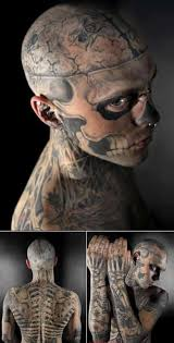 rico zombie the man who turned himself into a skeleton with