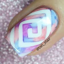 twi star nail art blog sharpie spring watercolor nails youtube