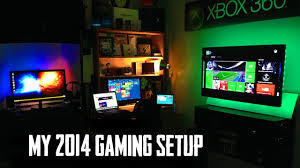 gaming setup ps4 love the xbox setup from my ultimate gaming setup room tour