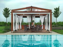 Roofing For Pergola by Shaded To Perfection Elegant Pergola Designs For The Modern Home