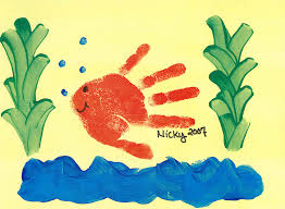 hand print art yahoo image search results hand print art