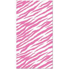 zebra tissue paper hot pink zebra tissue paper 8 sheets