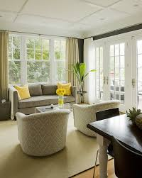 Yellow And Gray Accent Chair Chic Yellow U0026 Gray Living Room Design With Charcoal Gray Taupe