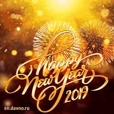 New Best Animated GIF Happy New Year 2019 Card Free Download