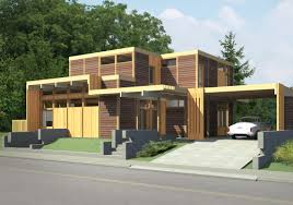 modern cedar homes built using lindal homes building systems