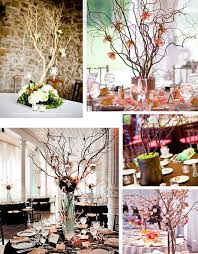 Tree Branch Centerpiece by Tree Branch Wedding Centerpieces With Flowers Wedding Ideas