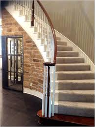 Below Stairs Design Below Stairs Design Half Wall Ideas By Staircase Studio Design