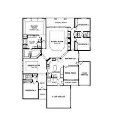 inspiring floor plan of a one story house with one story four