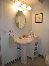 Bathroom Storage Ideas Under Sink Storage Ideas Under Pedestal Sink Sinks And Faucets Decoration