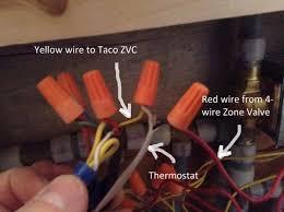 4 wire zone valve taco wiring diagram simonand