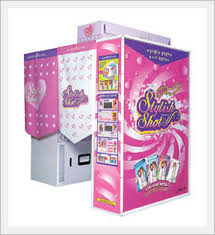 Photo Booth Machine Photo Sticker Booth Daeseung Intercom Co Ltd