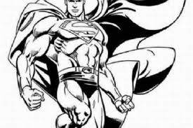 Coloring Page Printable Coloring Pages Part 10 Superman Coloring Pages Print