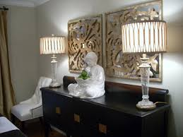 buffet table lamps to elegant dining room
