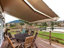Electric Awning Lake Samish Lakefront Home With Sandy Beach Vrbo