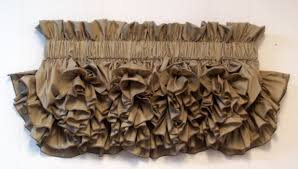 curtains country home of delores u0027 ruffles