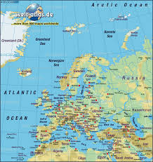 Us Physical Map Map Of Europe Map Of The World Physical Map In The Atlas Of The