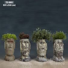 Large Head Planters Http Images Fineartamerica Com Images Medium Large Pottery