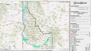 map of idaho population of idaho census 2010 and 2000 interactive map