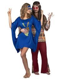 halloween hippie costumes blue hippie costume for women vegaoo