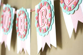 Shabby Chic Banner by Baby Banner Baby Name Banner Nursery Banner Baby Shower