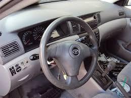 Toyota Interior Colors 2003 Toyota Corolla Ce 1 8l Auto Fwd Color Gray Stk Z14820