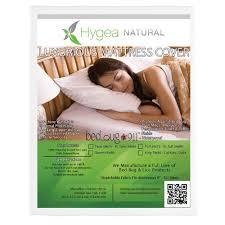 King Size Mattress Pad Bed Bug 911 Hygea Natural Bed Bug Mattress Cover Or Box Spring