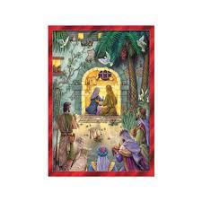 nativity advent calendar peaceful nativity advent calendar the catholic company