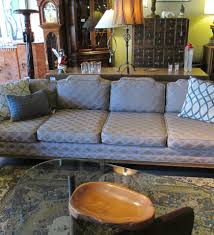 Extra Long Sofas Great Lines Extra Long And Low Tufted Sofa At 1stdibs Extra Long