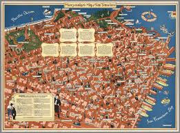 San Francisco On World Map by More Old Maps Of San Francisco Guaranteed To Blow Your Mind