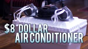Small Portable Air Conditioner For Bedroom 8 Homemade Air Conditioner Works Flawlessly Youtube