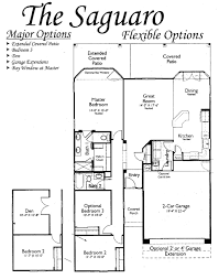 floor plans for the saguaro models inside arizona traditions an