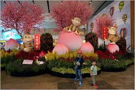 New Year Decorations 2016 by Chinese New Year Decorations Changi Airport Singapore Home Is
