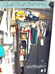 Organizing Closets Organizing Closets With A Growing Family Reveal Pure U0026 Simple