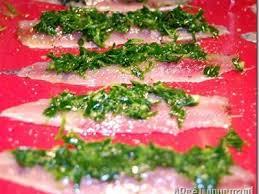 cuisiner des sardines fraiches recette filets de sardines en robe verte 750g