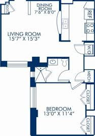 blueprint floor plan studio 1 2 u0026 3 bedroom apartments in washington dc camden