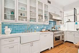 subway tile kitchen backsplash ideas kitchen pretty kitchen backsplash blue subway tile inspiration