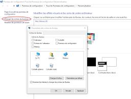 supprimer corbeille du bureau changer l image d une tuile dans windows 10